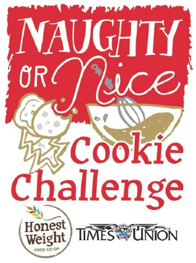 Naughty or Nice Cookie Challenge logo.