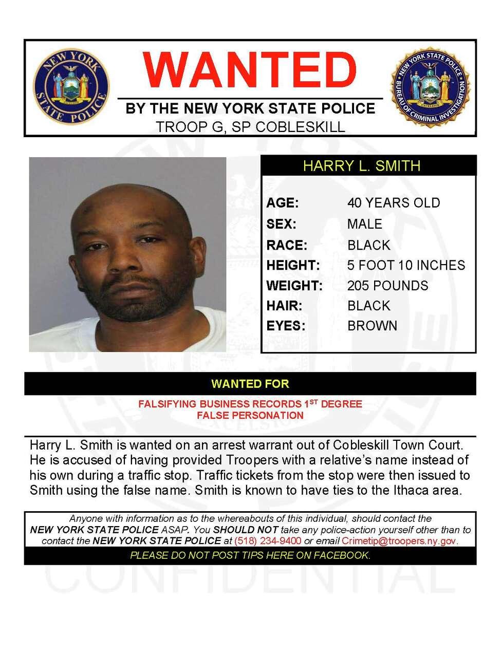 Harry L. Smith (NY State Police)