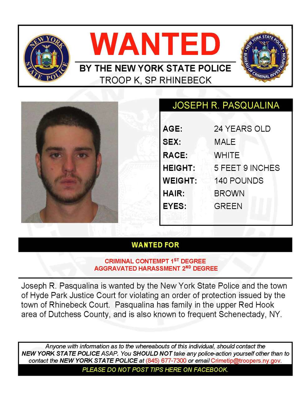 Joseph R. Pasqualina (NY State Police)