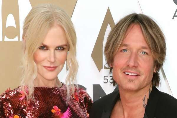 NASHVILLE, TENNESSEE - NOVEMBER 13: (FOR EDITORIAL USE ONLY) Nicole Kidman and Keith Urban attend the 53nd annual CMA Awards at Bridgestone Arena on November 13, 2019 in Nashville, Tennessee. (Photo by Taylor Hill/Getty Images)