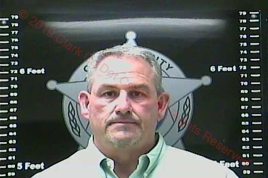 "A booking photo of Philip Todd Wilson at the Clark County Detention Center in Kentucky. Wilson is facing over a dozen charges related to child pornography. He gained national notoriety for his efforts to ban books with ""homosexual content"" from classrooms. Photo: Clark County Detention Center"