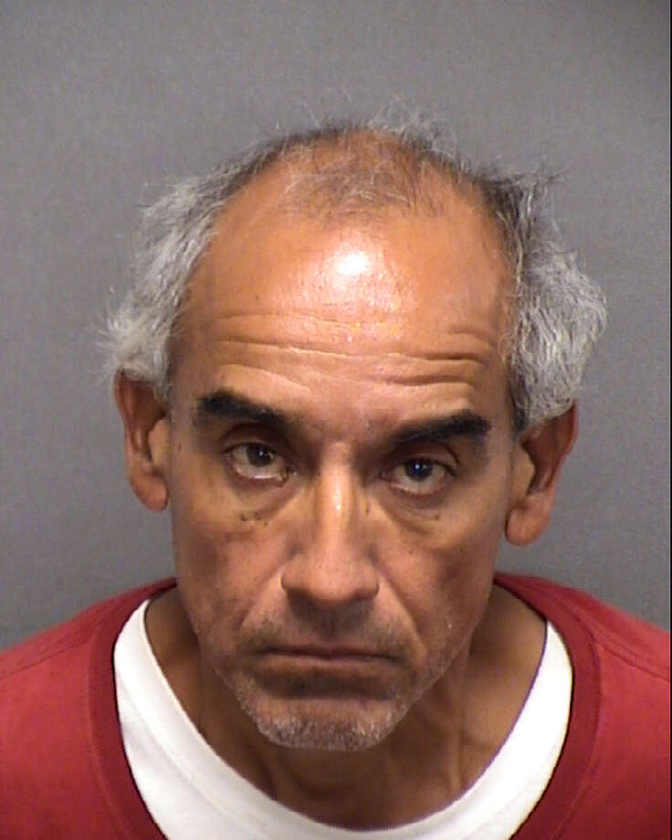 Daniel Campos, 58, was charged with terroristic threats after allegedly threatening the Youth Pastor at the Leon Valley Baptist Church. Photo: Bexar County Sheriff's Office