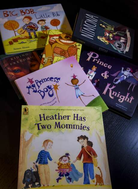 """Equality Loudoun is initiating an effort to keep """"diverse"""" books, including ones about LGBTQ issues, in classroom libraries. Photo: Jahi Chikwendiu/The Washington Post"""