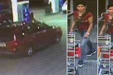 Crime Stoppers is offering a reward for the identity of two people involved in an aggravated robbery at 7-11.
