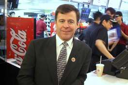 John Chidsey, Burger King's chief executive, is shown in this 2007 file photo. (Photo by Ricky Chung/South China Morning Post via Getty Images)