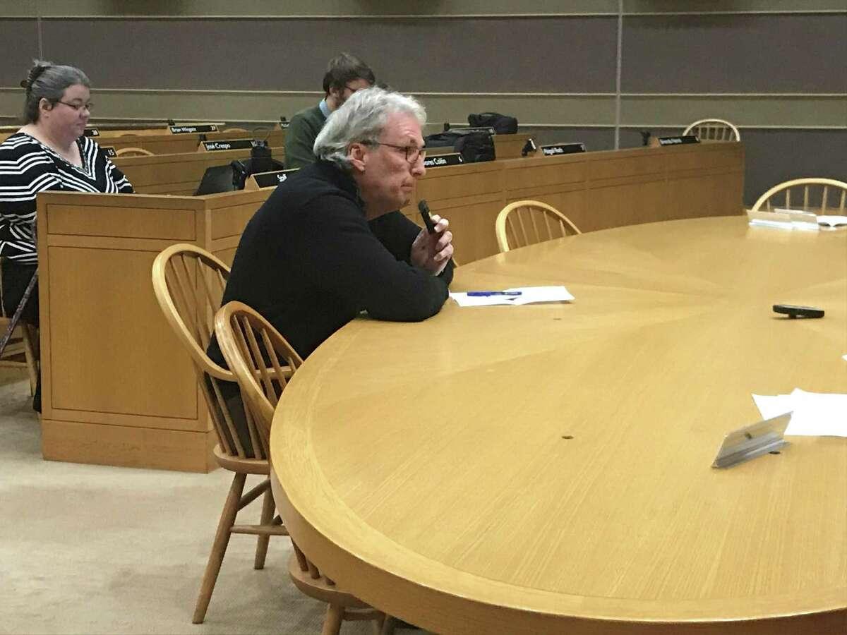 Civilian Review Board appointee Steve Hamm on Nov. 13, 2019.