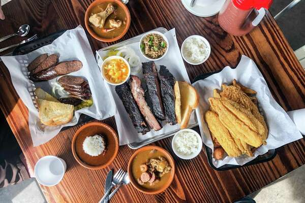 Barbecue, gumbo and fried catfish at Ray's BBQ Shack