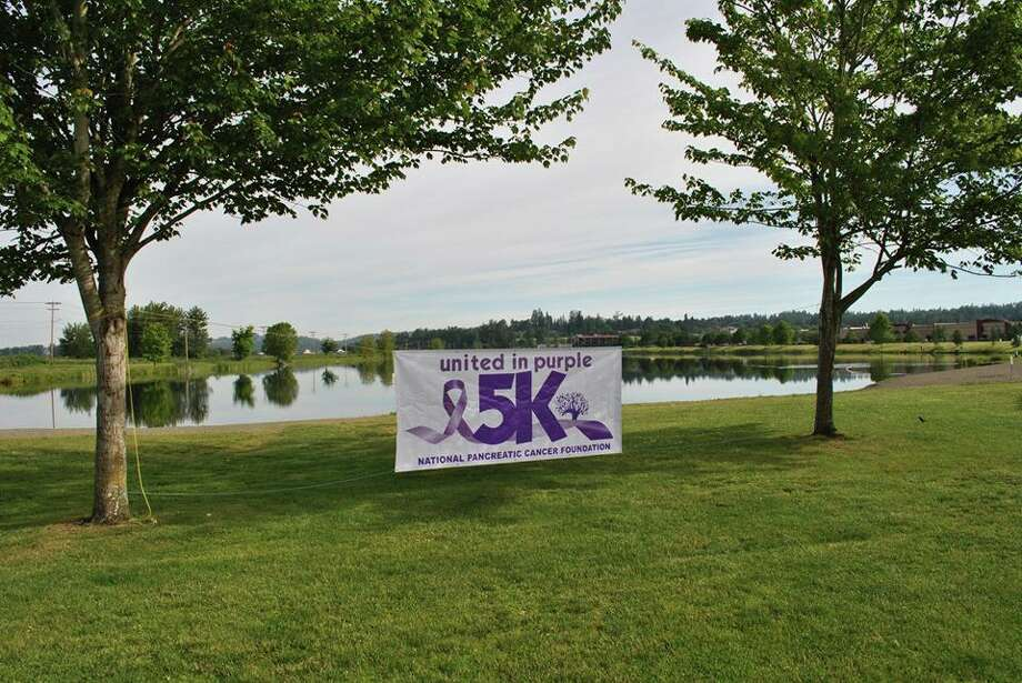 United in Purple 5k walk in Lake Tye in Monroe, WA. June 2019 Photo: Photo Provided By The National Pancreatic Cancer Foundation