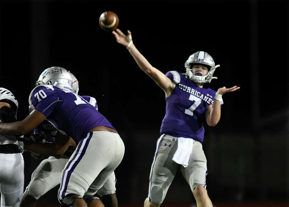 Klein Cain senior quarterback Luke Pardee (7) was named to the 2019 All-District 15-6A first-team. Photo: Jerry Baker, Houston Chronicle / Contributor / Houston Chronicle