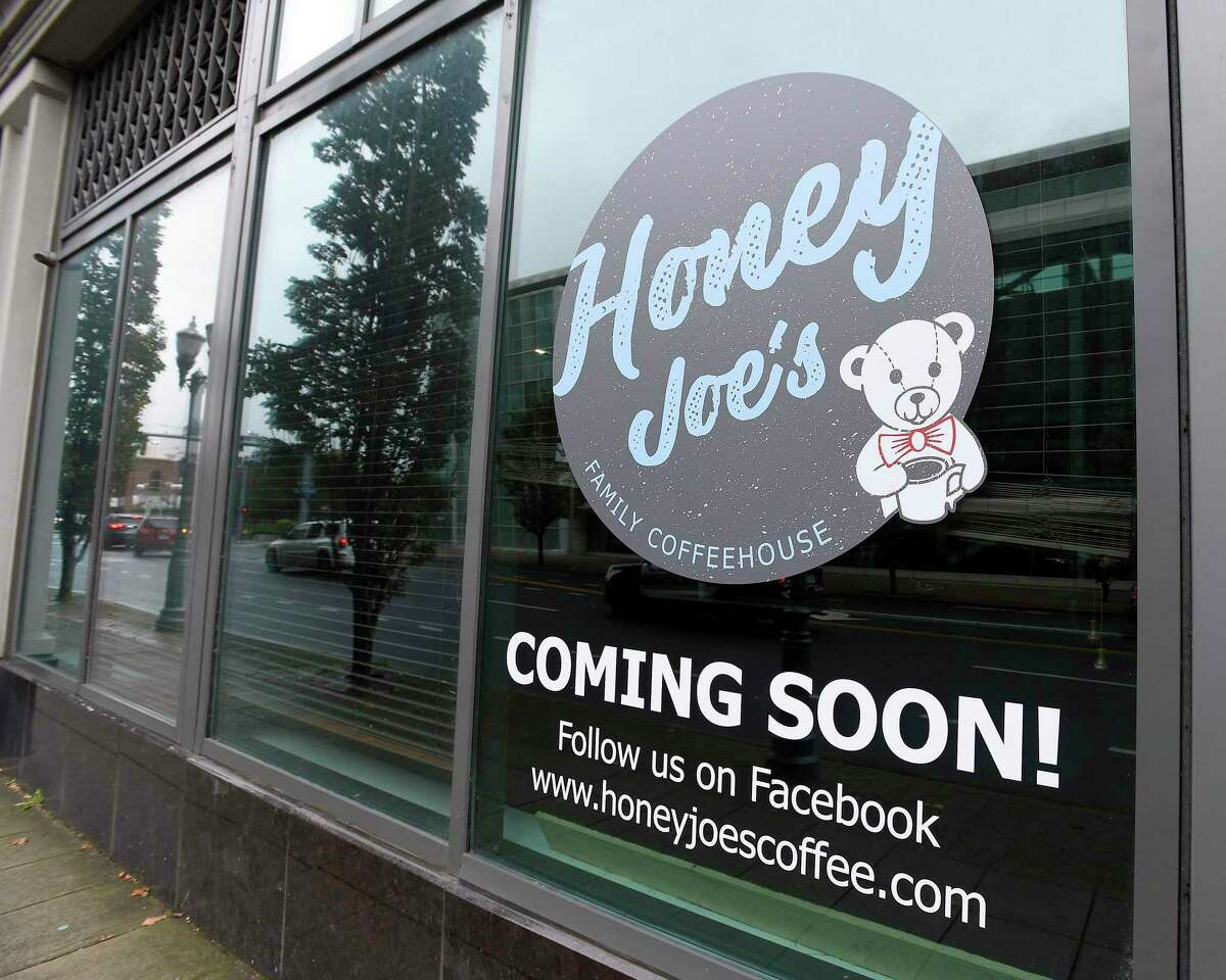 Honey Joe's coffee shop is set to open in February 2020 at 5 Broad St., in downtown Stamford, Conn.