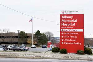 Exterior of Albany Memorial Hospital	 on Thursday, Nov. 14, 2019 in Albany, N.Y. (Lori Van Buren/Times Union)