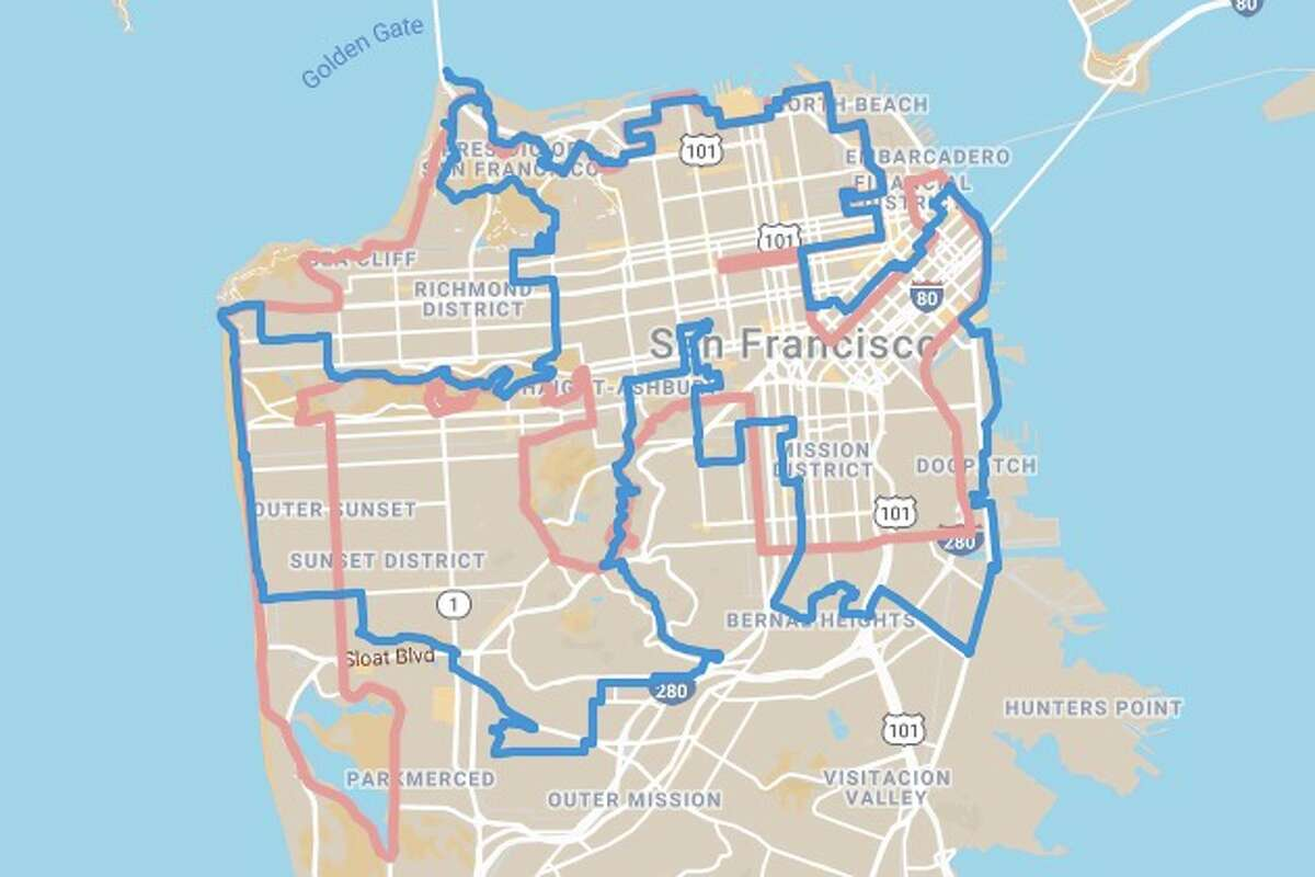 Compare the old and new 49 Mile routes