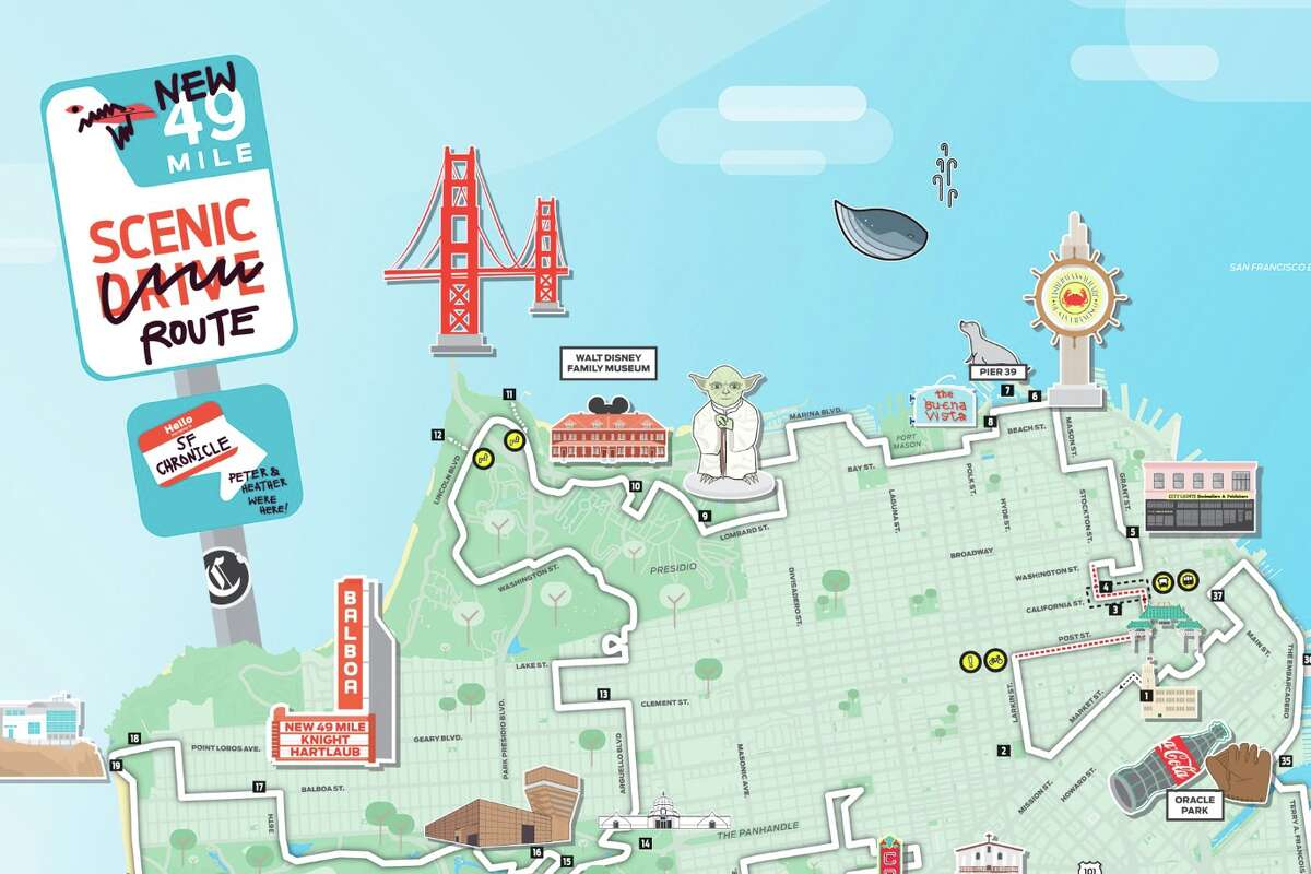 Download the complete SF Chronicle 49 Mile map