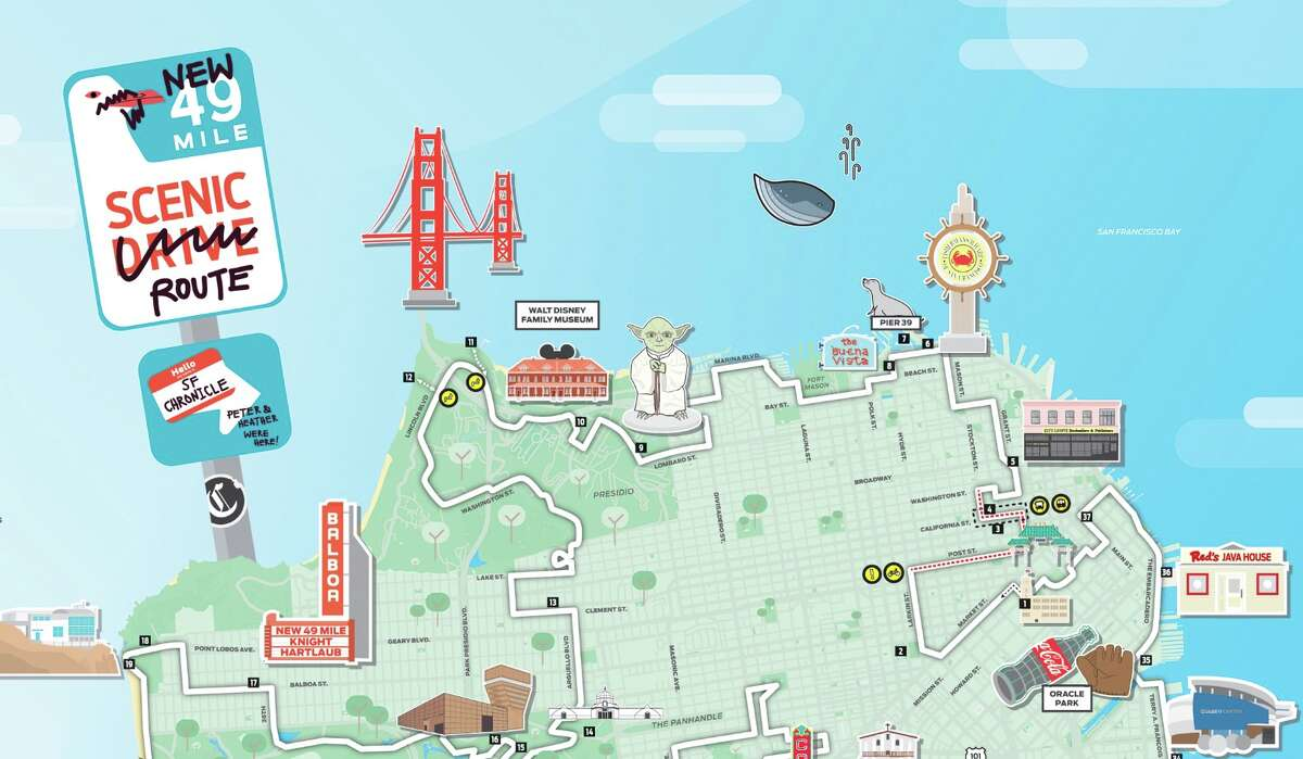 Explore our #49MileMakeover with a new map.
