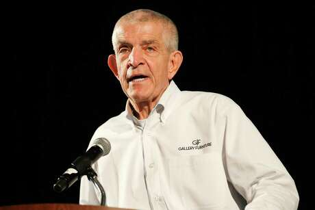 """Jim """"Mattress Mack"""" McIngvale, known as Mattress Mack, shown here in February, plans to open two schools and a daycare in his north Houston store."""