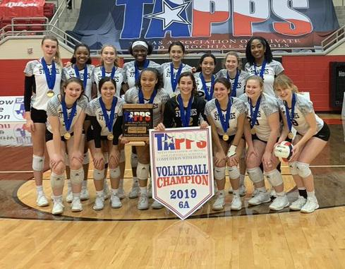 Resilient St. Agnes rallies for first TAPPS state volleyball title since 2005