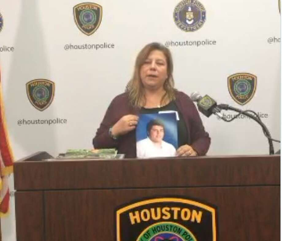 The mother of an 18-year who was shot in the head during a road rage incident on Halloween night is asking the public for help in locating the man who left her son for dead on a southwest Houston roadway. Police released a composite sketch of the suspect Wednesday. Photo: Houston Police Department