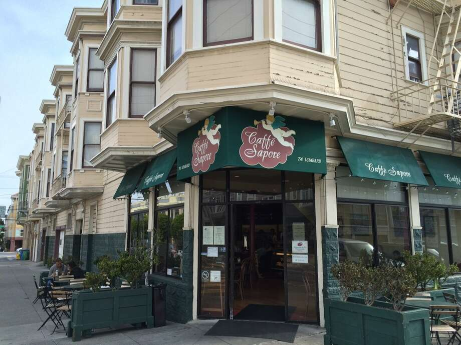 The owners of Caffe Sapore, a North Beach restaurant that had been in business for 23 years, as well as former actor Sam Hiona are both facing eviction, leading to a neighborhood protest. Photo: Thomas Chase Leo S. Via Yelp