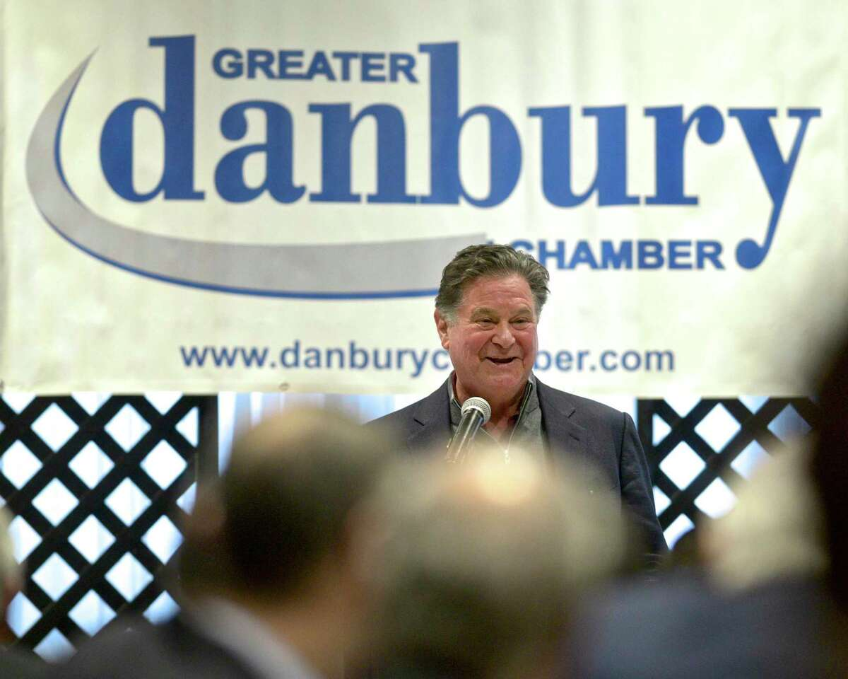 Stew Leonard Jr. , president and CEO of Stew Leonard's, was the keynote speaker of the Greater Danbury Chamber of Commerce annual membership meeting and breakfast. Thursday morning, November 14, 2019, at the Amber Room Colonnade, Danbury, Conn.