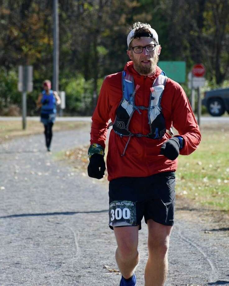 USA cross country coach Mike PetercompetestheTunnel Hill 100 in Vienna, Illinois. (Courtesy Photo)