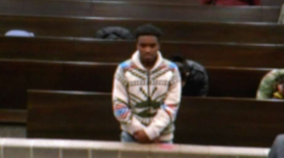 Jaylon Broussard, 18, is seen in probable cause court Thursday, Nov. 14, 2019. Photo: OnScene.TV