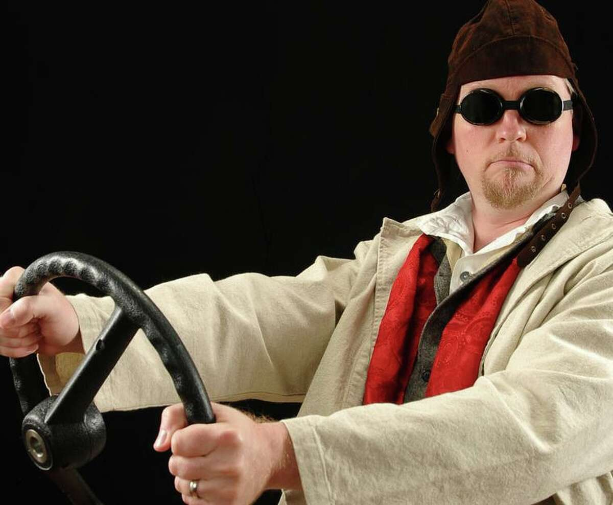 Dressed in a duster and goggles, storyteller Tim Lowry will invite everyone aboard the Tin Lizzie to hear stories from across the country in an event at 2 p.m. Sunday at the Perrot Memorial Library. This event is recommended for families with children ages 5 and up. Not unlike Mr. Toad's wild ride from the classic