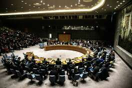 The United Nations Security Council meets in January 2019.