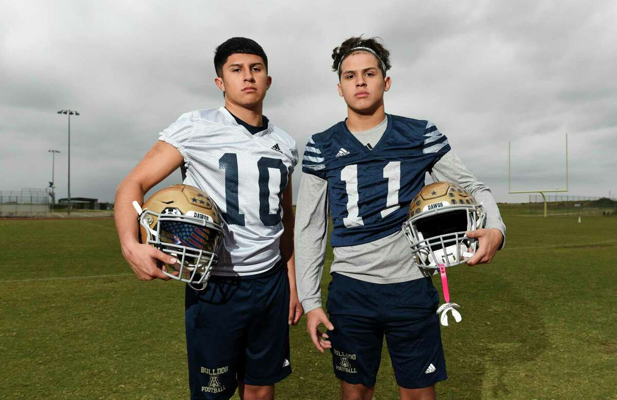 Jay Santos (left) and Josh Santos (right) have played key roles in Alexander's third straight playoff berth.