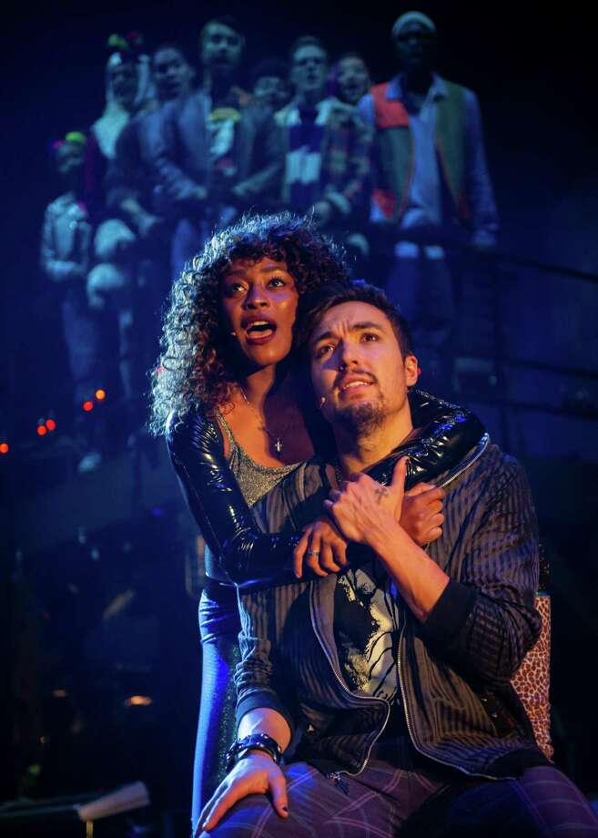 """The cast perform a song in """"Rent,"""" due at the Shubert Nov. 22-24. Photo: Amy Boyle / Contributed Photo / ©Amy Boyle Photography"""