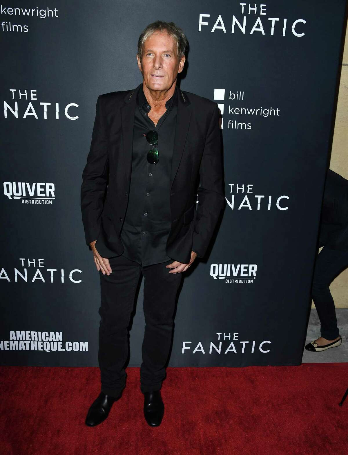 HOLLYWOOD, CALIFORNIA - AUGUST 22: Michael Bolton arrives at the Premiere Of Quiver Distribution's