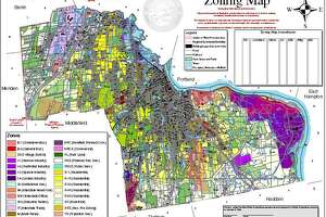 Middletown's zoning map
