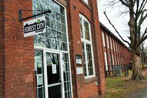 The Robert M. Keating Historical Enterprise Park, at 180 Johnson St., is host to two breweries and a cidery in the North End of Middletown. A change in the city's zoning code will now allow these establishments, in addition to brewpubs, to operate in certain areas. Shown here is Forest City Brewery.