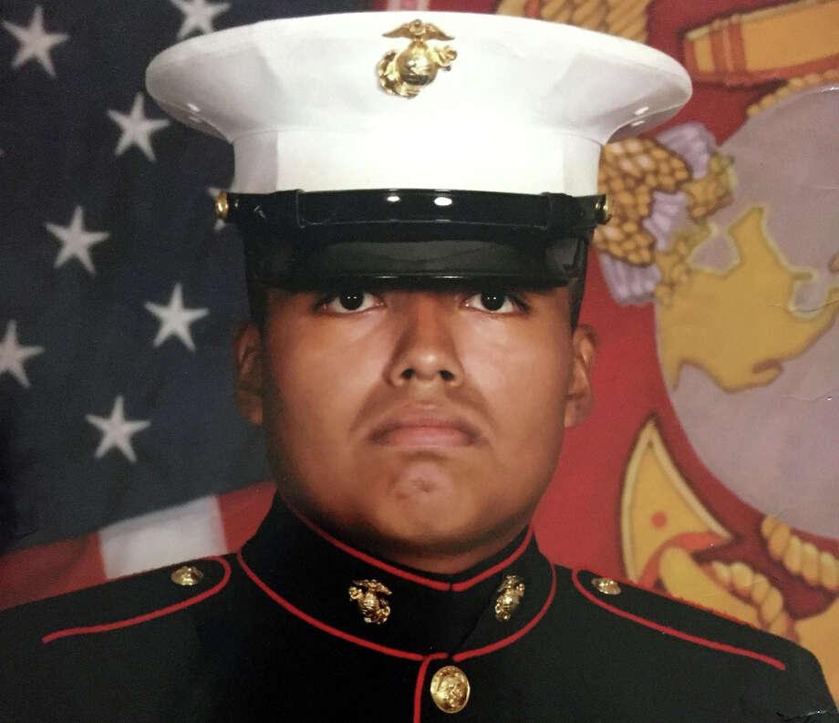 Marine Jilmar Ramos-Gomez. Photo: Courtesy Of Richard Kessler. / Courtesy of Richard Kessler