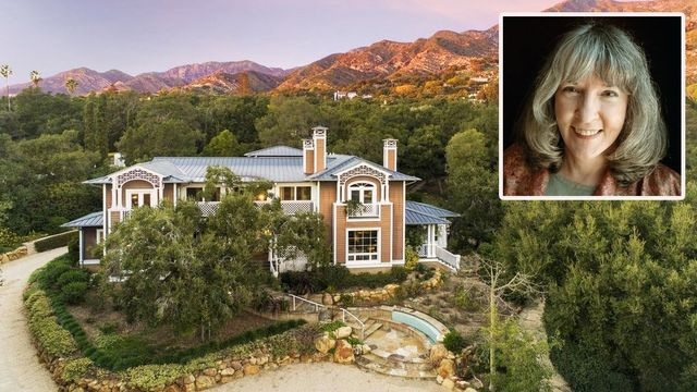 R Is for Reduction: Sue Grafton's Montecito Mansion Gets a Price Cut - SF Gate