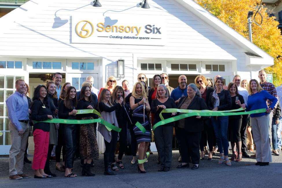 Sandra Fox, founder and president of Sensory Six, an interior design firm, celebrated the opening of the company's new offices at 8 Butler Place, Saratoga Springs in November. (Photo provided)