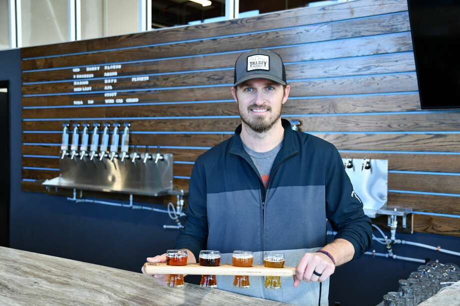 Tall City Brewery opened its tasting room and brewery Friday, Nov. 14. Photo: Mercedes Cordero/Midland Reporter-Telegram