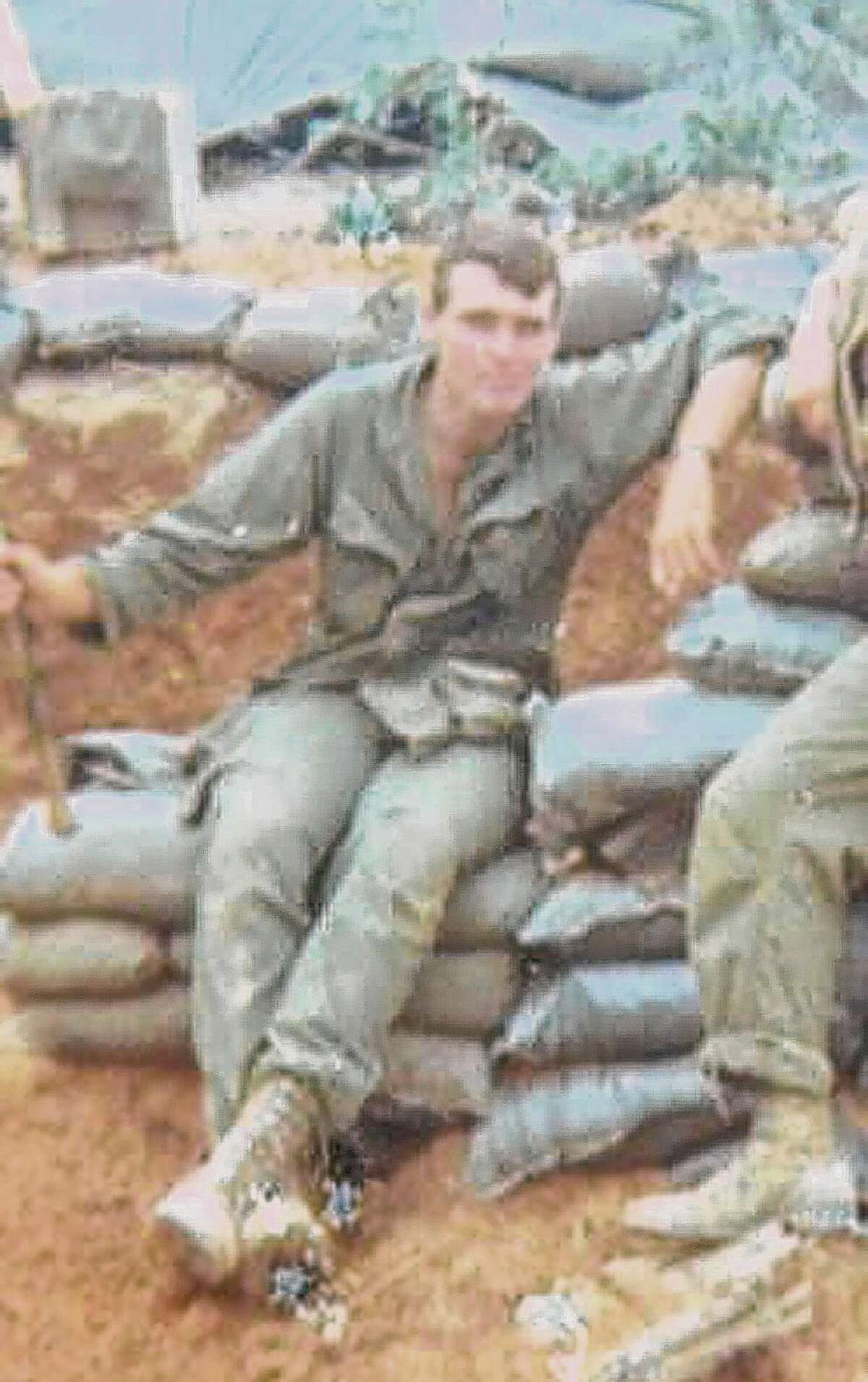 Terry Kindlon in the Quang Tri Province, Vietnam in 1967. (Courtesy of Terry Kindlon)