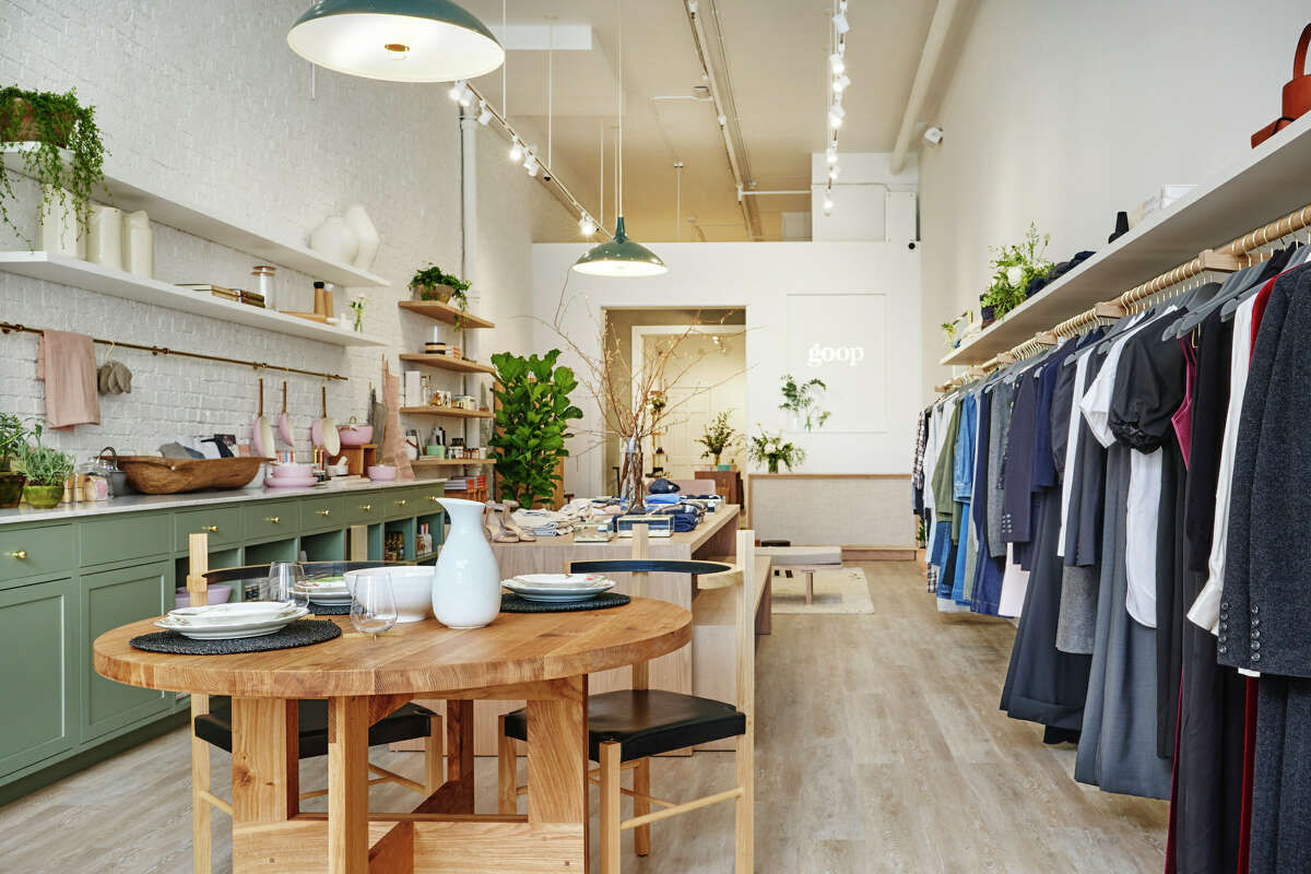 The new Goop store at 2121 Fillmore in Pacific Heights is designed to look like a home.