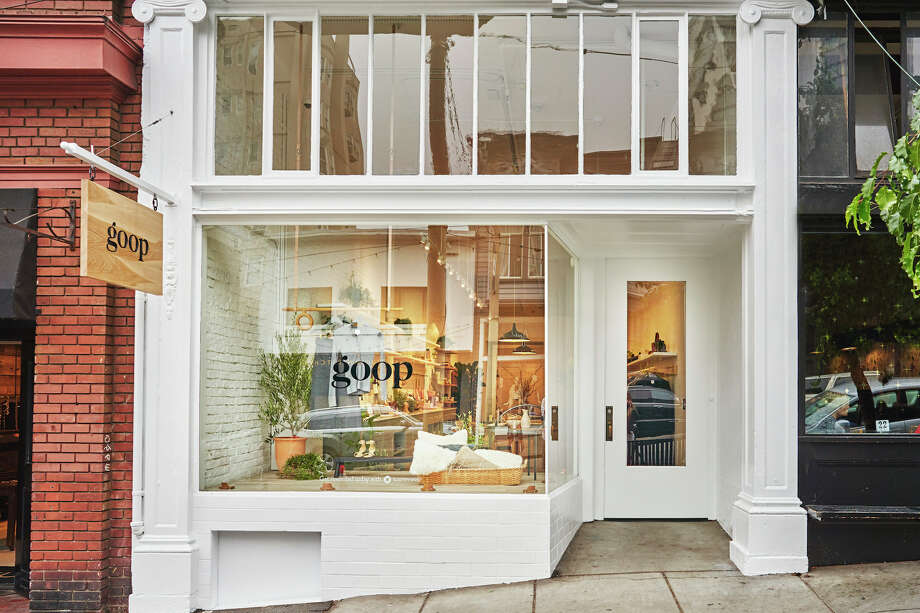 The new Goop store at 2121 Fillmore in Pacific Heights is designed to look like a home. Photo: Goop