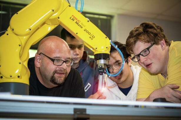 Career and Technical Education students are offered hands-on experience to learn about career opportunities.
