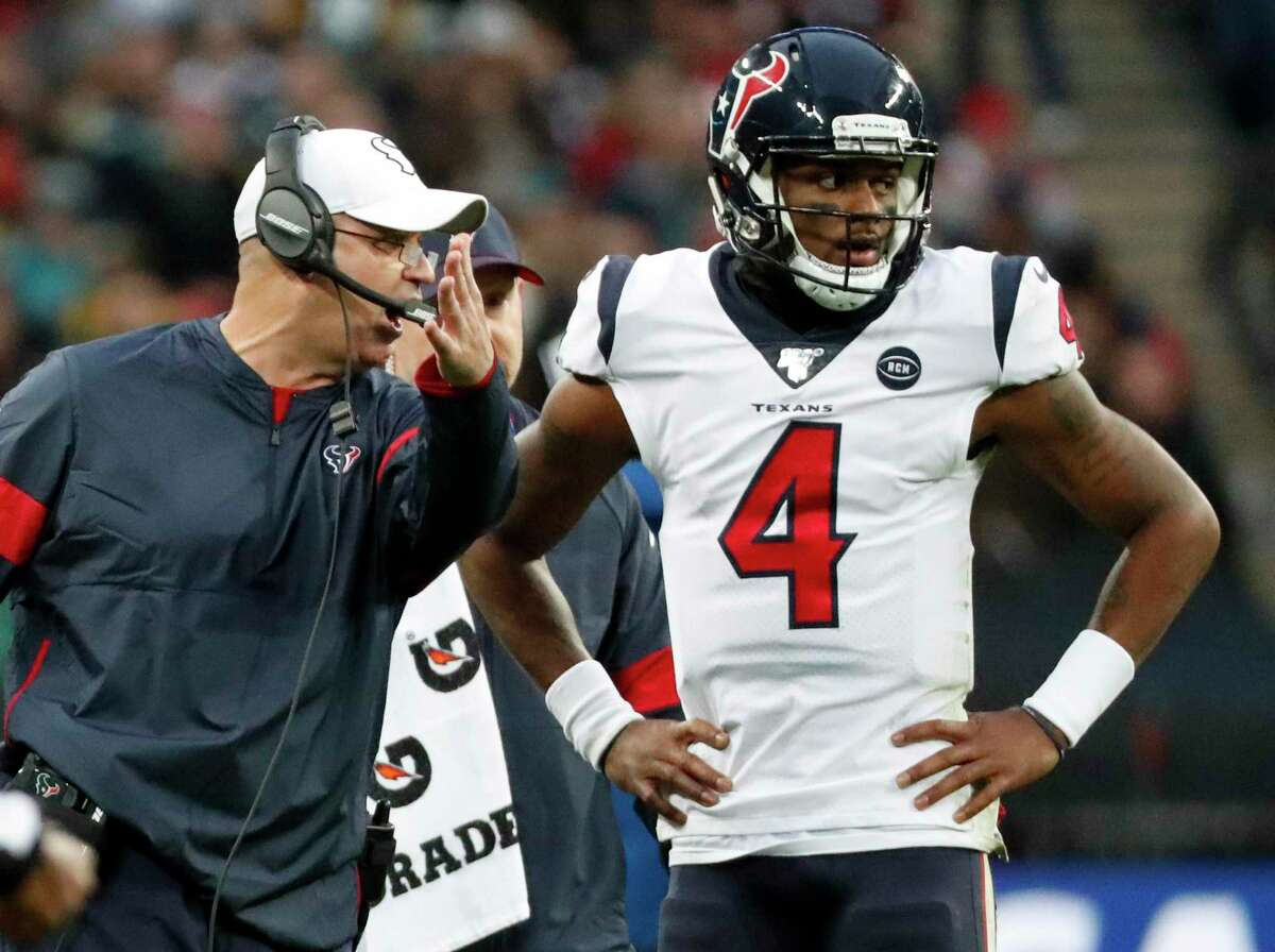 Bill O'Brien has Deshaun Watson, and that should give Texans the edge against the Colts.