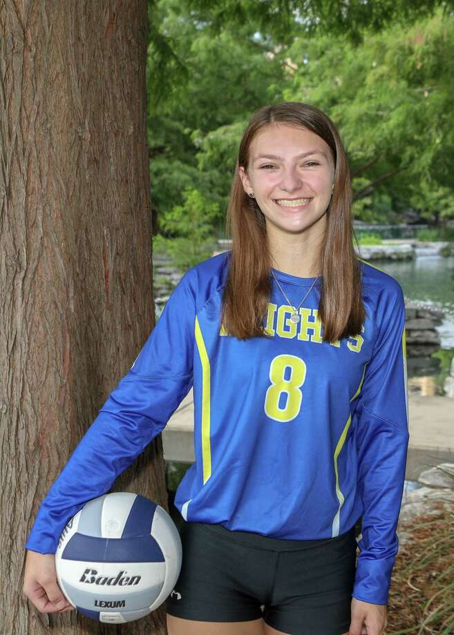 Alamo Heights volleyball player Ruby O'Brien Photo: Courtesy Photo