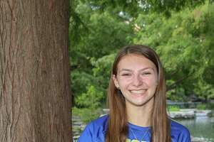 Alamo Heights volleyball player Ruby O'Brien