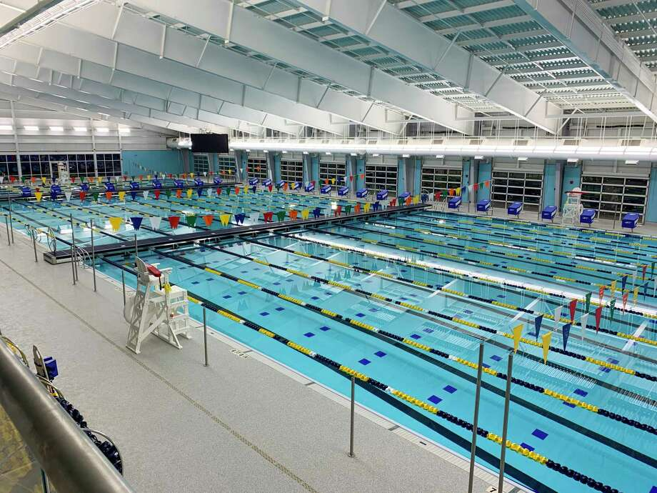 North East ISD will have a grand reopening for the rebuilt Walker Pool on Nov. 20. Among the distinguished guests expected to attend are U.S. Olympic gold medalists Josh Davis and Doug Gjertsen. Photo: David Stone /Courtey Photo