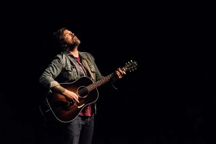 Brandon Calhoon performs in Midland in 2018. (Daily News file photo)