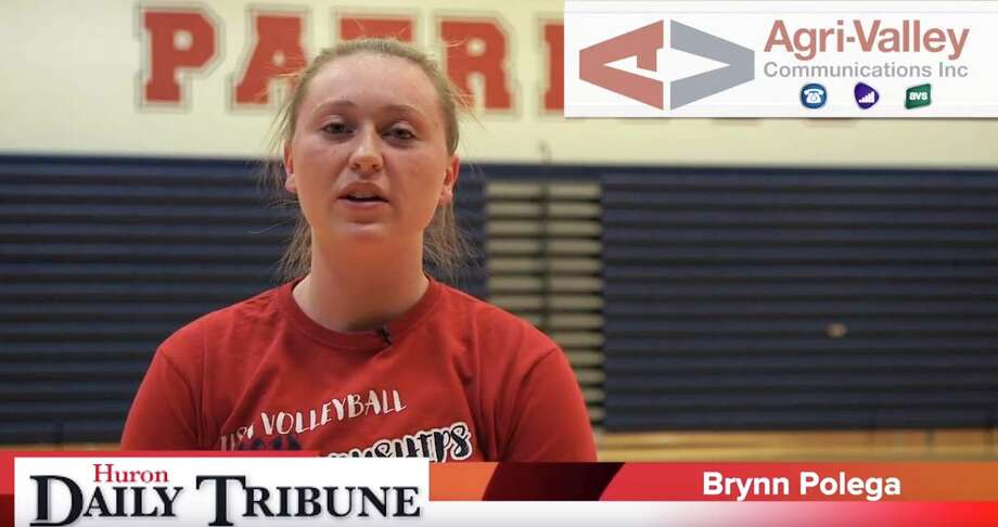 Brynn Polega of the USA volleyball team is the Agri-Valley Communications Athlete of the Week. Photo: Coulter Mitchell