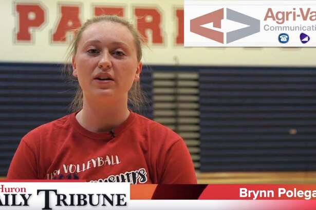 Brynn Polega of the USA volleyball team is the Agri-Valley Communications Athlete of the Week.