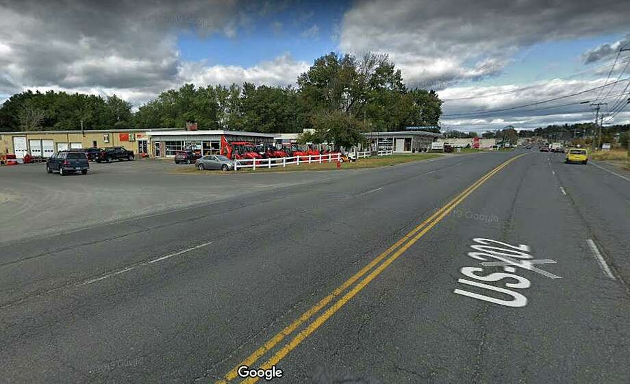 Police are investigating a hit and run accident that happened around 5:50 p.m. on Thursday, Nov. 14, 2019. on Danbury Road in front of Tractor Supply. Photo: Google Street View Image