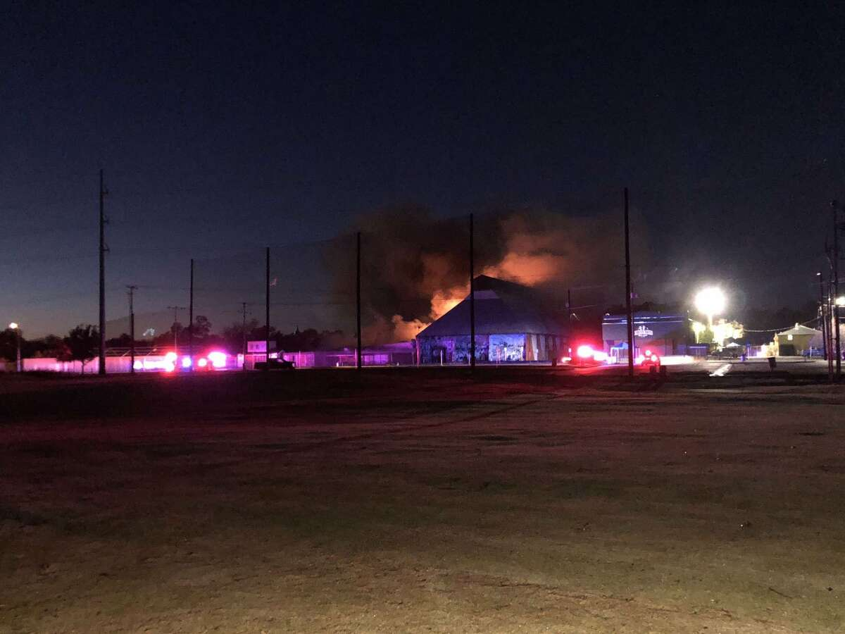 A massive fire broke out at the Wurstfest grounds on the morning of Nov. 15, just daysafter the conclusion of the 2019 celebrations.