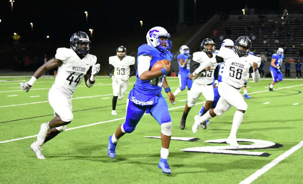 Cy Creek defeated Westside 34-21 in the Class 6A Division II Region 3 Bi-District round, Nov. 14, at Pridgeon Stadium.